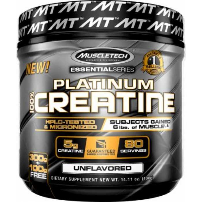 MuscleTech - Platinum 100% Creatine / 400 gr.​